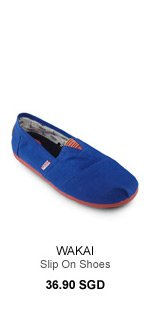 Wakai Slip On Shoes
