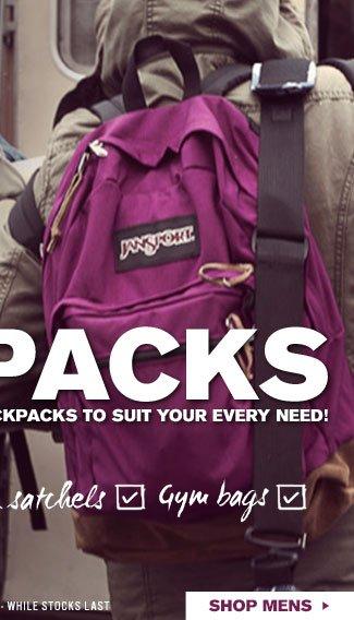 Shop Mens Backpacks