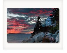 SUNSET AT BASS HARBOR By: Vincent James