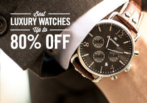 Shop Best Luxury Watches up to 80% Off
