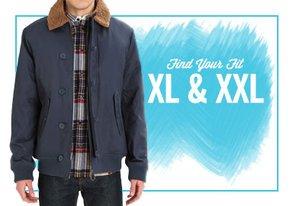 Shop Find Your Fit: XL & XXL