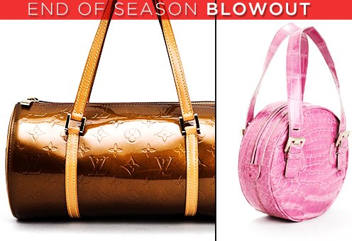 End-of-Season Blowout: Luxury Preloved Handbags & Accessories