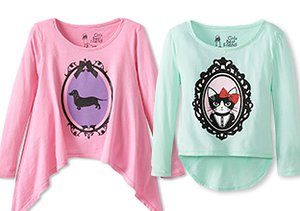 Girl's Best Friend: Dog & Cat Tees
