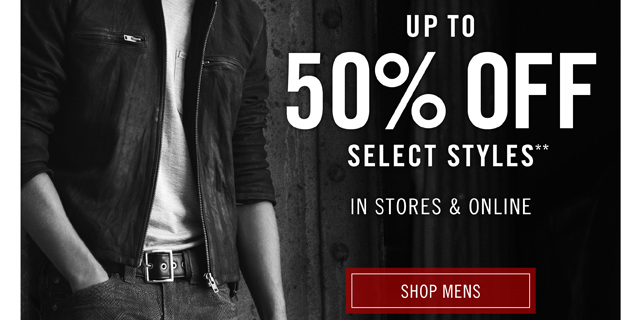 Semi Annual Sale - Shop Mens