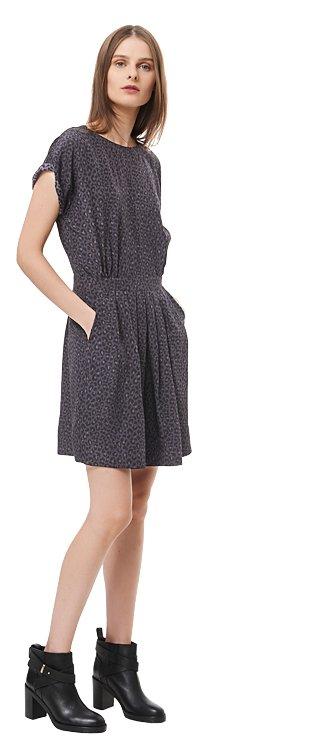 Wildcat Print Dress