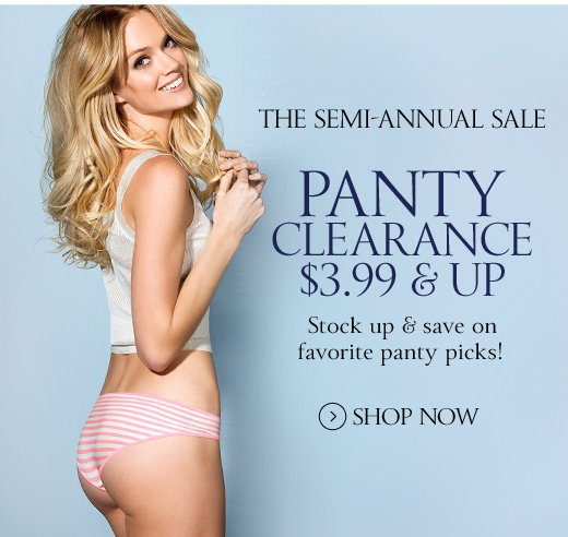 Panty Clearance $3.99 & Up
