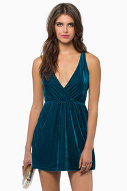 Unfettered Dreams Velour Dress 35