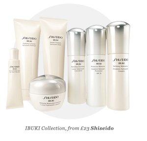 IBUKI Collection, from £23 Shiseido