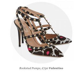 Rockstud Pumps, £730 Valentino