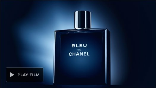 SURPRISE HIM This Valentine's day, give the unexpected with the striking scent of BLEU DE CHANEL.