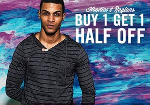 Shop Hoodies & Henleys: $45 & Under