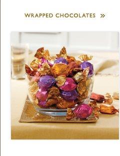 WRAPPED CHOCOLATES »
