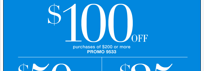 Save Up to $100 with Coupon!