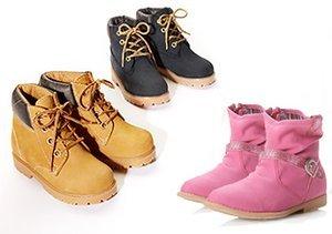 $17 & Up: Kids' Boots