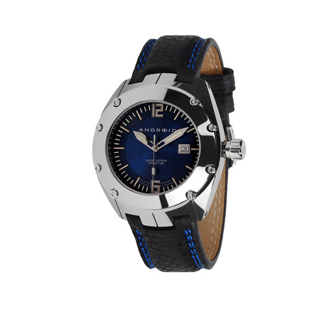 Virtuoso® Tungsten T-100 Automatic Limited Edition // Blue