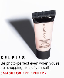 13 SELFIES Be photo-perfect even when you're not snapping pics of yourself. Smashbox Eye Primer