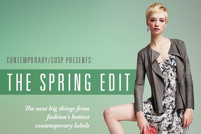 Spring Edit: Contemporary/CUSP Lookbook