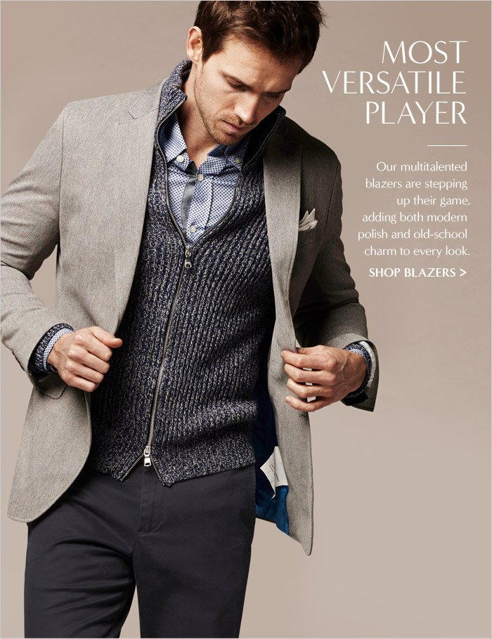 MOST VERSATILE PLAYER | SHOP BLAZERS