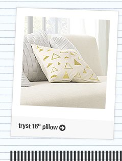 tryst 16in pillow