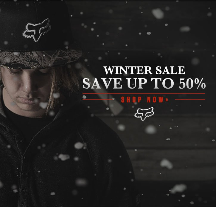Winter Sale - Save Up To 50%