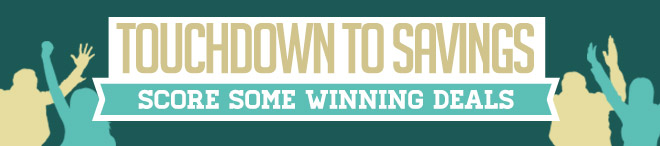 Touchdown to Savings - Score Some Winning Deals
