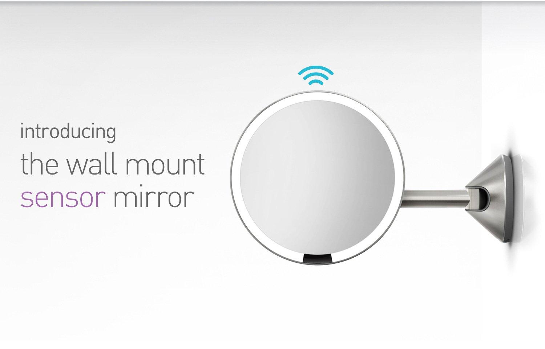 introducing the wall mount sensor mirror
