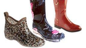 Fashionable Rainboots