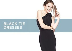 Up to 80% Off: Black Tie Dresses