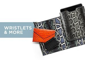 Up to 80% Off: Wristlets & More