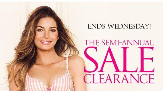 The Semi-Annual Clearance