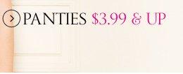 Panties $3.99 & Up