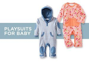 Up to 70% Off: Playsuits for Baby