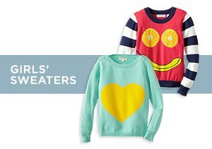 Up to 70% Off: Girls' Sweaters