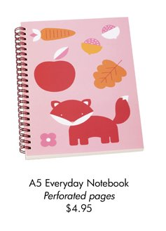 A5 Everyday Notebook Perforated pages