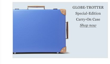 Globe-Trotter Special-Edition Carry-On Case