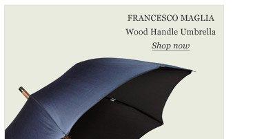 Francesco Maglia Wood Handle Umbrella