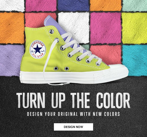 TURN UP THE COLOR