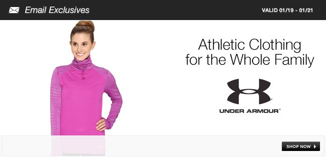 Athletic Clothing for the Whole Family