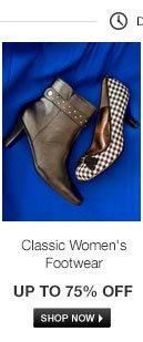 Classic Womens Footwear