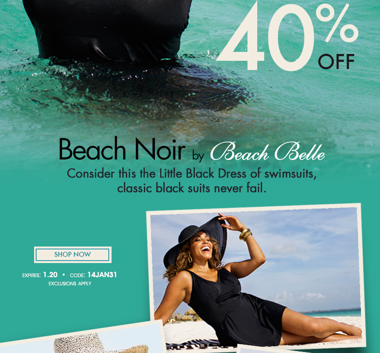 Beach Noir by Beach Belle - the Little Black Dress