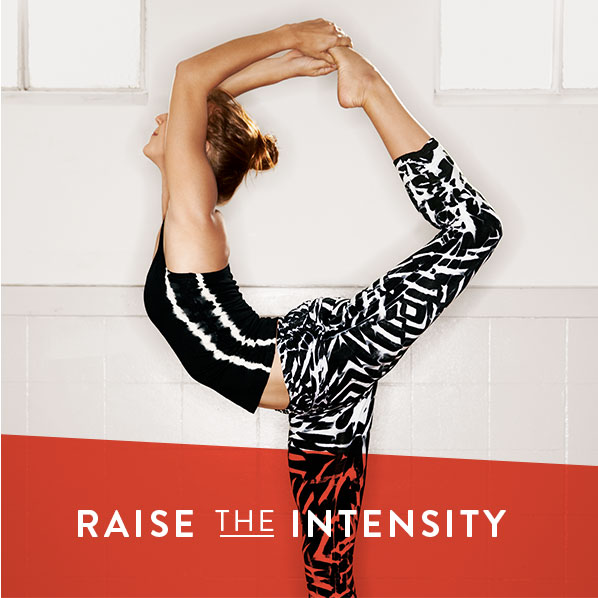 RAISE THE INTENSITY