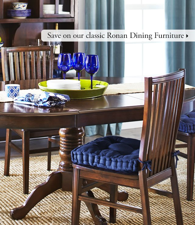 Pier 1: Start with the right dining table, and build up from there ...