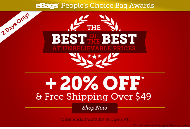The Best of the Best at Unbelievable Prices! 20% Off and Free Shipping Over $49! Shop Now.