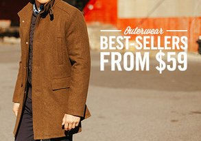 Shop Outerwear Best Sellers from $59