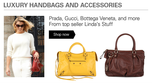 Luxury handbags and accessories