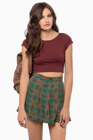 Short and Scoop Crop Top 18