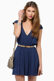 Getaway V Neck Dress 36