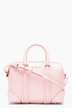 GIVENCHY Pink Leather Lucrezia Mini Duffle Bag for women