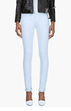 MAISON MARTIN MARGIELA Pale Mint skinny Jeans for women