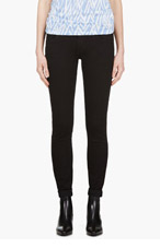 NUDIE JEANS Black Organic Tight Long John Jeans for women